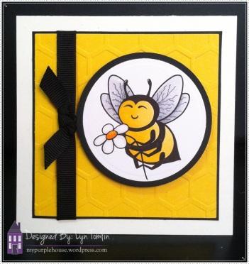 Stitchy Bear Bee